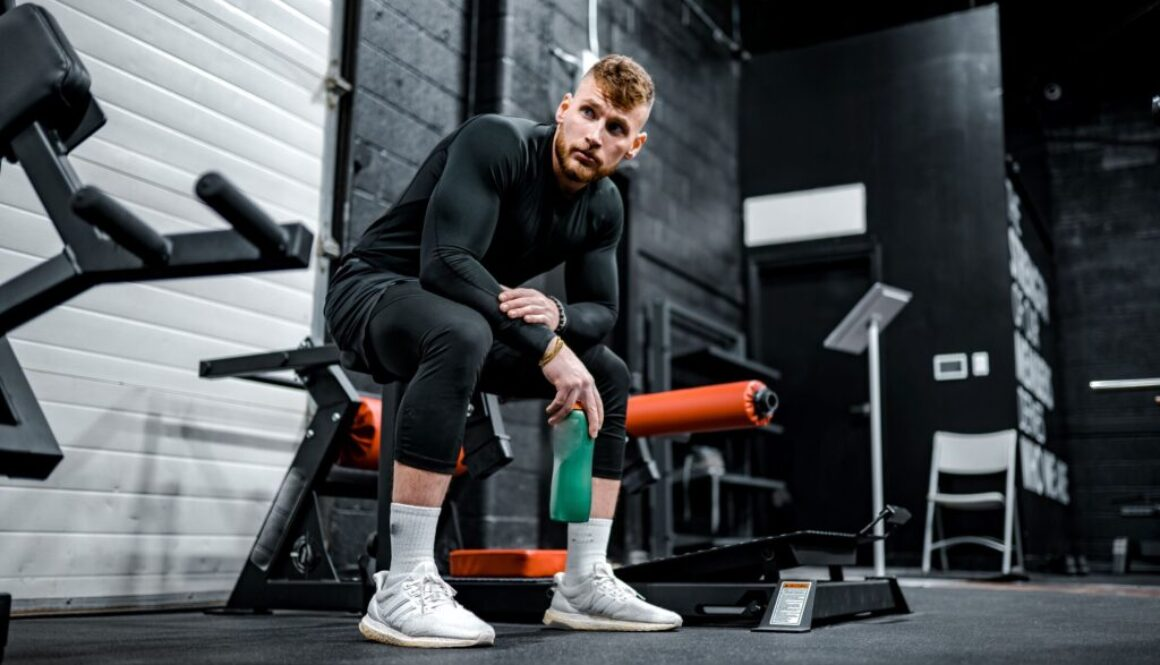guy in gym health fitness nutrition