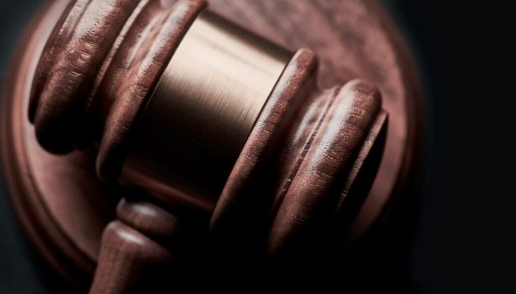 close up photo of a wooden gavel